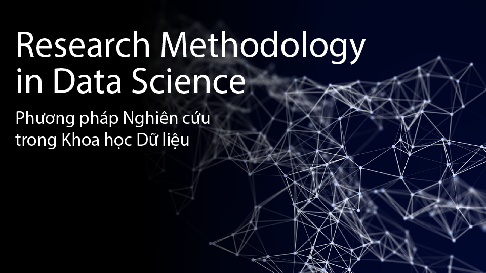 Research Methodology in Data Science COS116